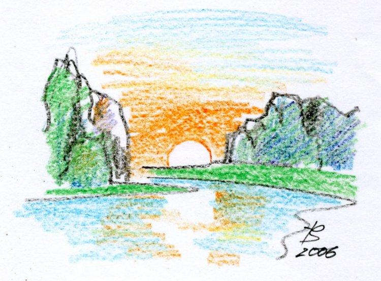 Тульская область рисунок горы цветными карандашами поэтапно без ограничений